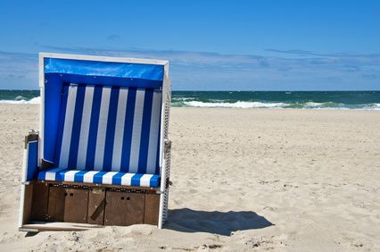 Strandkorb Erholung